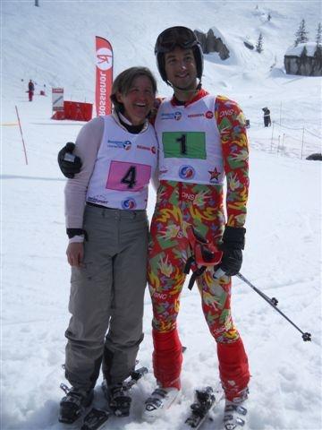 médaille esf ski